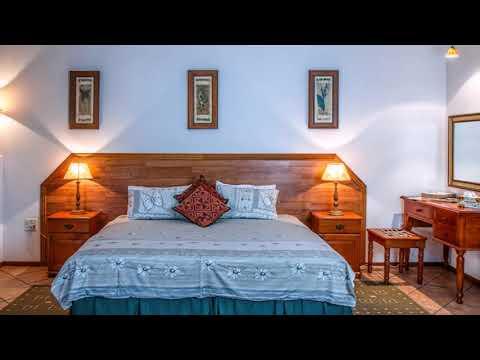 Bedroom Blue White Interior