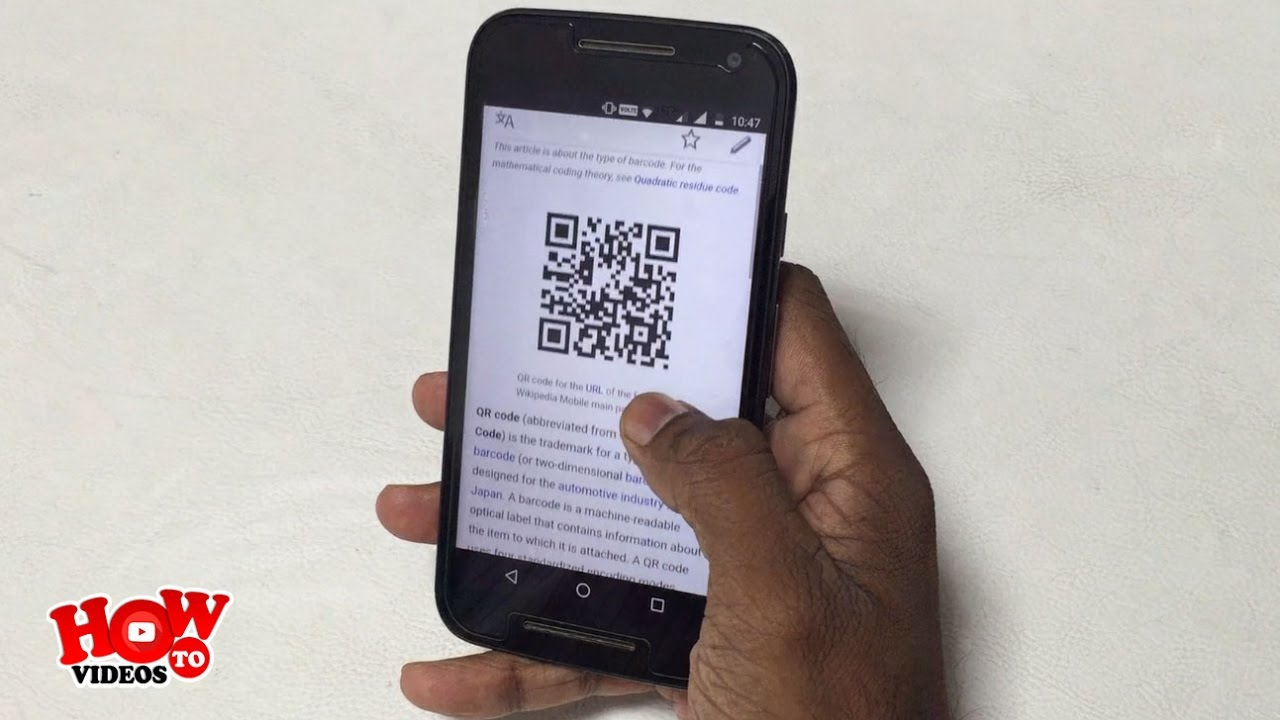How to use QR Code