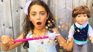 Heidi apresenta um show de mágicas - una história mágica e engraçada para crianças