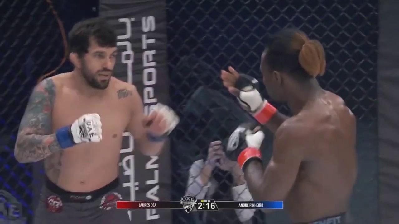 Jaures Dea vs Andre Pinheiro - Full Fight | UAE Warriors 11
