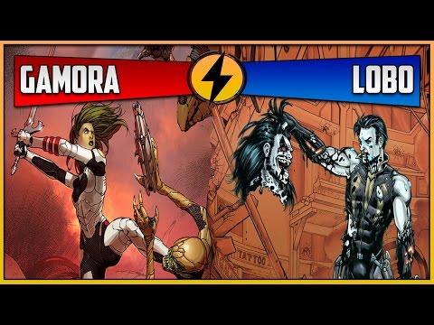 Gamora VS Lobo (CBVS #55)