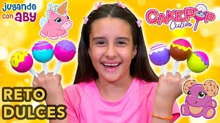 RETOS CON DULCES, chuches y Cakepop Cuties. Gummy vs Squishy
