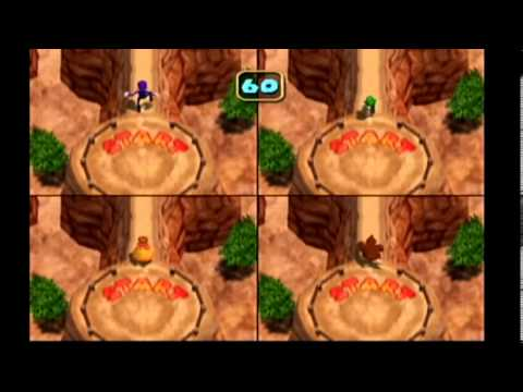 Mario Party 4: Battle Minigame - Paths of Peril