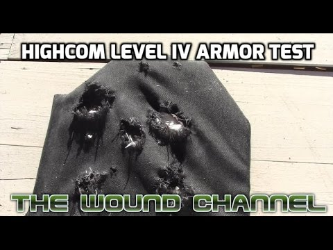 HighCom Security Level IV Armor Test