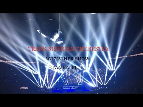 BACK IN TAMPA FOR THE TRANS-SIBERIAN ORCHESTRA - Vlog