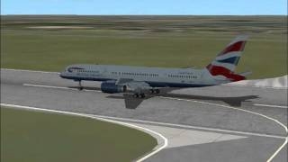 FSX Heathrow Emergency Landing