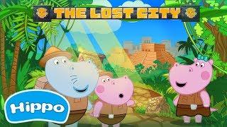 Гиппо 🌼 Путешествие в затерянный город Майя 🌼 Мультик игра для детей (Hippo)