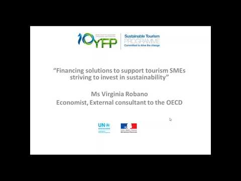 Financing sustainable development in tourism SMEs