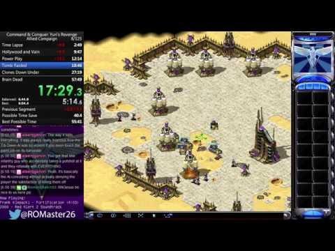 [World Record] 50:27 - Command & Conquer: Yuri's Revenge Allied Campaign Speedrun