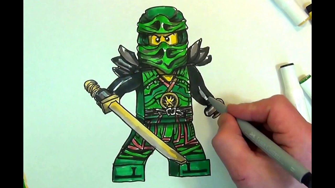 How To Draw Lloyd Ninjagolego100sketch Youtube