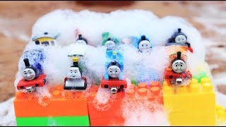 Thomas and Friends washing body with learn colors for children | car toy