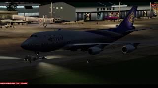 [P3D V4] PMDG 747-400 V.3 Fly VTSP to VTBS [full flight] 18 02 2019