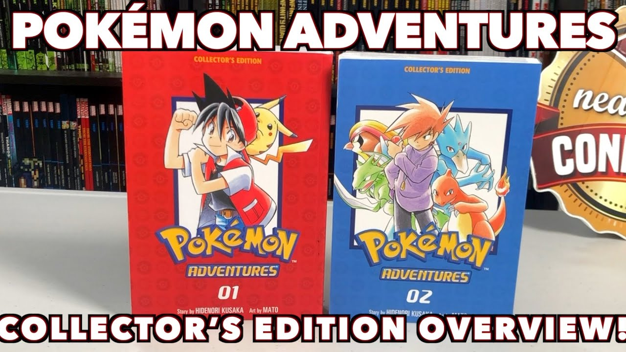 Pokémon Adventures Collector's Editions Overview!