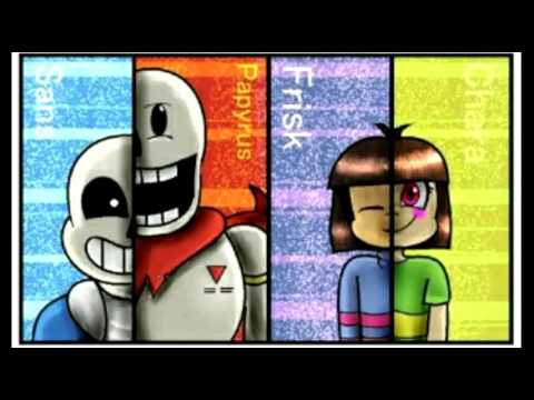 Stronger Than You Frisk,Chara,Sans & Papyrus