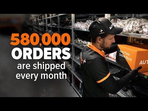 How AUTODOC's warehouse operates