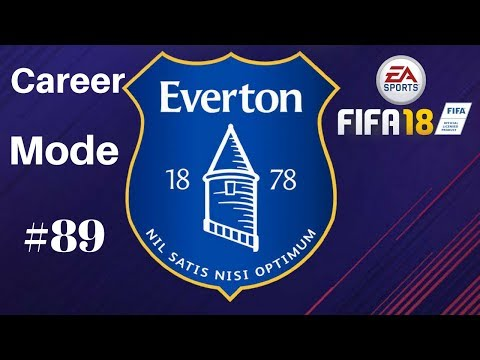 CHAMPION LEAGUE FINAL!!! Fifa 18 Everton Career mode - Part 89