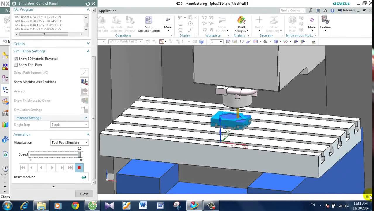 UG Nx CAM 9 0 Tutorial Siemens Nx CAM Guide take CNC machine in UG Nx CAM 9  Tutorial