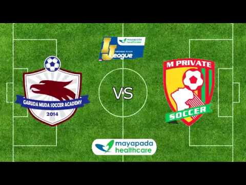 Garuda Muda SA vs M'Private [Indonesia Junior Mayapada League 2018] [U11] 11-2-2018