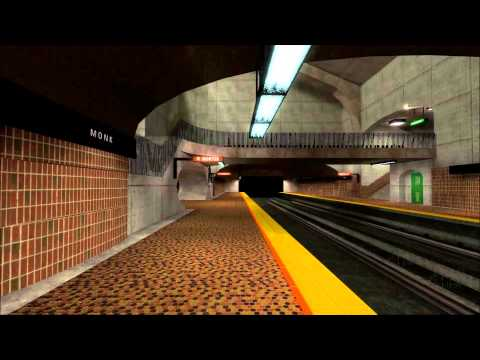 Montreal Metro Source Engine First Preview.