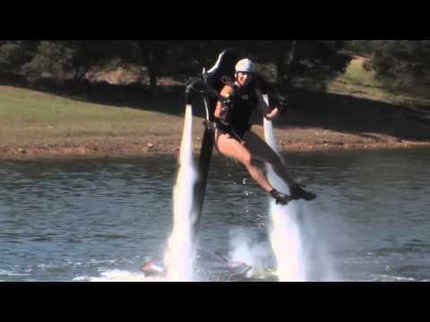 Jetpack NICOLE - New Pilot -Sydney Jetpack Lake Regatta centre- Jetpack Adventures
