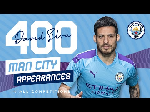 10 GREAT DAVID SILVA ASSISTS | 400 Man City appearances