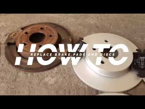 Front Drilled Rotors /& Pads and Rear Drums /& Shoes for 2012-2015 Ford Focus