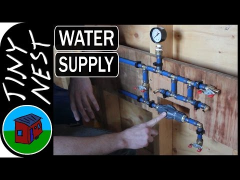 Tiny House Water Supply Plumbing (Ep.31)