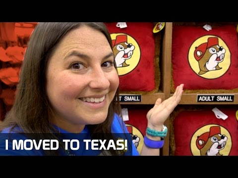 MOVING TO TEXAS: Travel Vlog from Orlando to Houston (PLUS: BUC-EE'S!)!!!