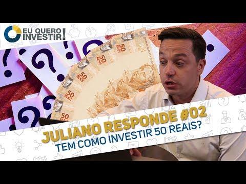⭐ Tem como investir 50 reais? E investir com o nome sujo ?   ❔ Juliano Responde #02