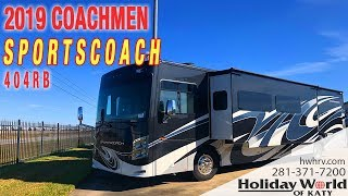 Join JJ as he shows off the 2019 COACHMEN SPORTSCOACH 404RB.