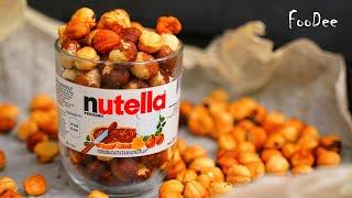 Нутелла всего из 2 ингредиентов НАСТОЯЩАЯ орехово-шоколадная паста в домашних условиях