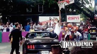 Dunk FAIL Over a Car by Michael Purdie! Video