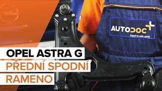 Montáž Řídící páka zavěšení kol OPEL ASTRA G Hatchback (F48_, F08_): video zdarma