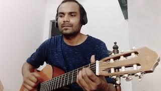 Gali mein aaj chand nikla (ALKA YAGNIK)   guitar cover by  pushkar Singh  