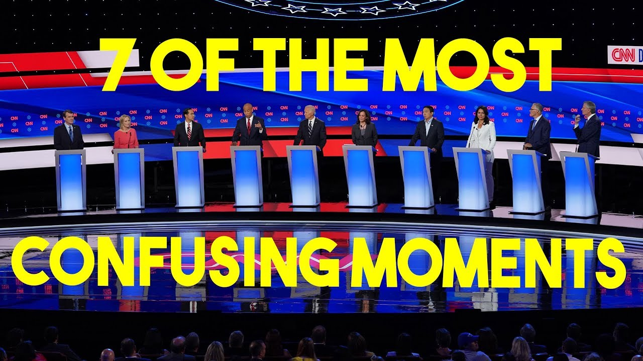 DC Shorts 7 Of The Most Confusing Moments From The Democratic Debates