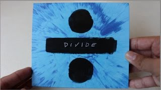Baixar Ed Sheeran - Divide ( Album Deluxe Edition ) - Unboxing CD en Español