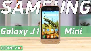 Galaxy J1 Mini - маленький смартфон от Samsung, большая между прочим редкость - Видео демонстрация