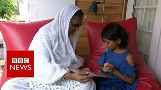 The Bollywood star whose mother can't read - BBC News