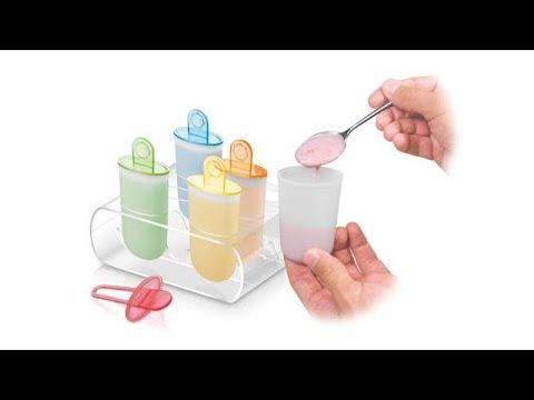 Видеообзор: Формочки для мороженого Tescoma Bambini 668220