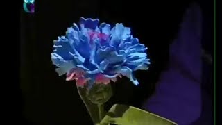 Делаем цветок василек из фоамирана (пористая резина). Мастер класс. Наташа Фохтина