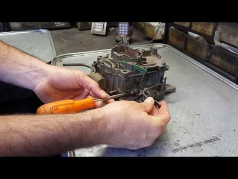 Rochester Carburetor tuning.