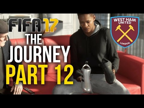 FIFA 17 THE JOURNEY Gameplay Walkthrough Part 12 - FIRST SPONSORSHIP DEAL (West Ham) #Fifa17