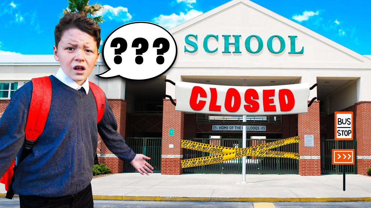 Download Convincing Little Brother his school reopened...*PRANK*