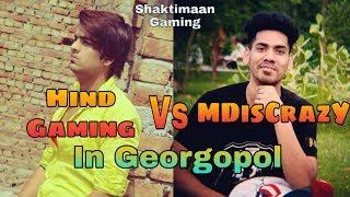 Hindi Gaming Vs MDisCrazY + Gareebooo In Georgopol | Emulator | Highlights | @Shaktimaan Gaming