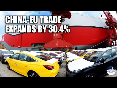 China-EU ties: Bilateral trade rises by 30.4 pct in first 9 months of 2021