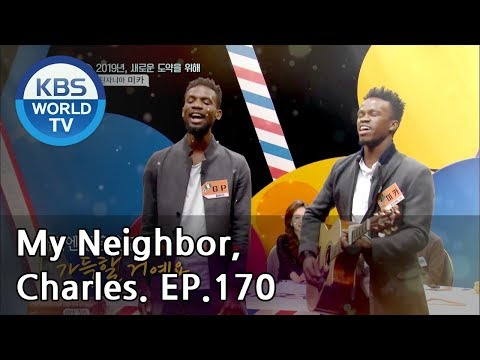 My Neighbor, Charles | 이웃집 찰스 Ep170 / Mika, the smiling guy from Tanzania! [ENG/2019.01.08]