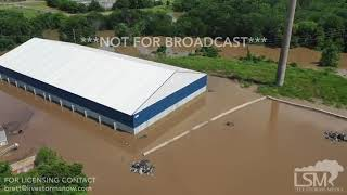 5-25-2019 Fort Smith, AR - Flooding Drone