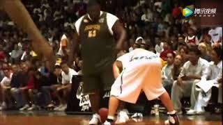 |堪稱街頭籃球界靈活奧尼爾,史上最胖街球手!|