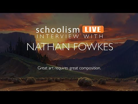 Composition conversations with artist Nathan Fowkes.