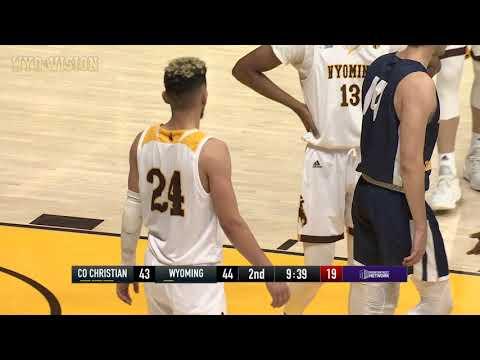 Wyoming Basketball vs Colorado Christian (11-1-18)